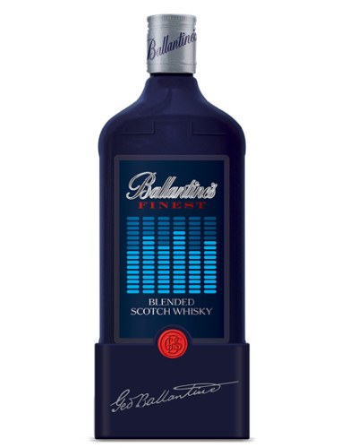 Botella de Ballantine's Finest