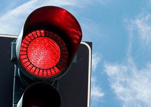 Nueva luz roja