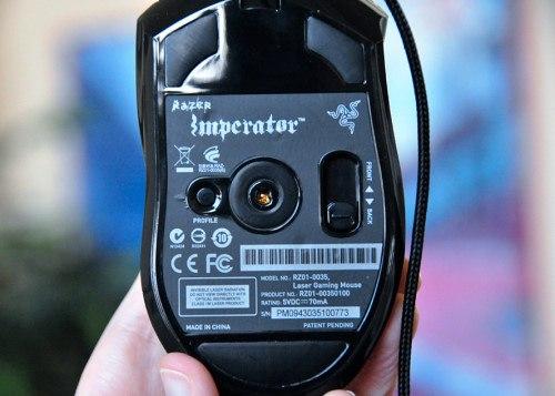 Razer Imperator  - abajo
