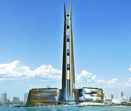 Miapolis el edificio m s alto del mundo dise ado para ser for Edificio movil en dubai