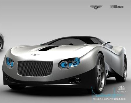 auto deportivo de bentley el ten11