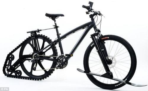 Bicicleta con lanzallamas
