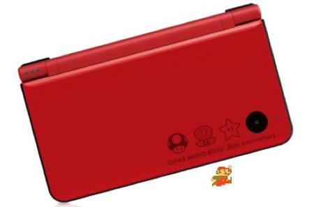 DSi Super Mario Bros. 25th anniversary