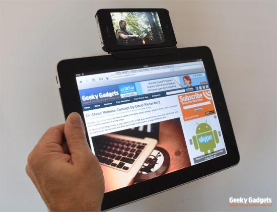 Conector casero une a iPad y iPhone