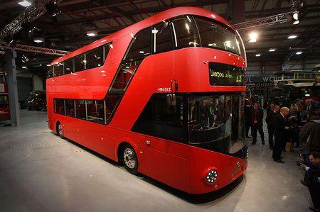 Ómnibus rojo de dos pisos de Londres
