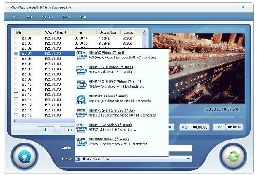 Blu-Ray To HD Video Converter