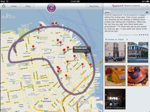 Yahoo! lanza Sketch-a-Search para iPad y lo actualiza