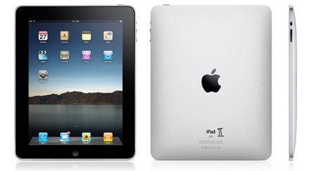 iPad con un II pintado