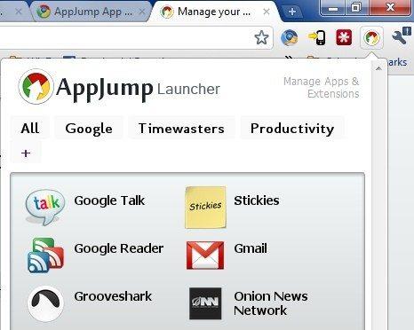 AppJump Launcher