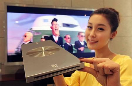 Reproductor Blu-ray 3D más delgado del mundo