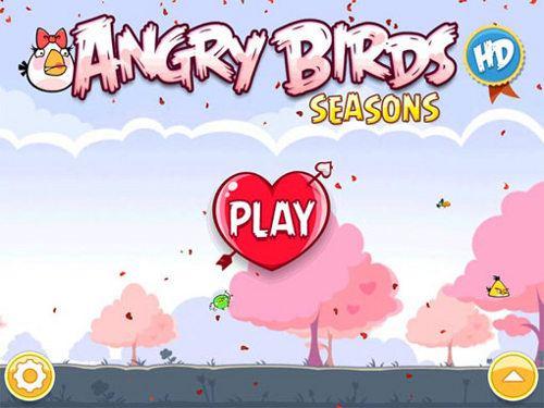 Angry Birds, edición de San Valentín