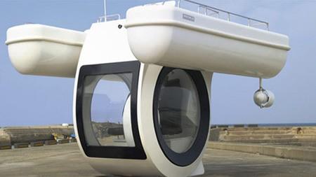 EGO, nuevo semi-submarino eléctrico