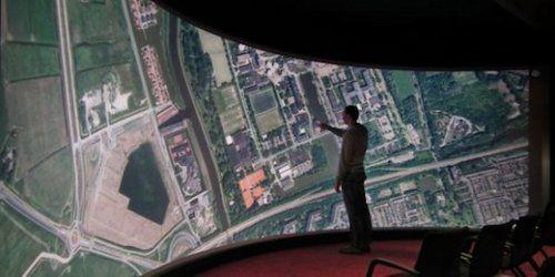 La pantalla touch más grande del mundo