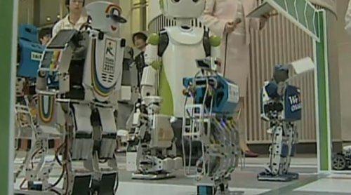 La primera maratón de robots