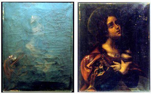 NASA usa oxígeno atómico para restaurar viejas pinturas