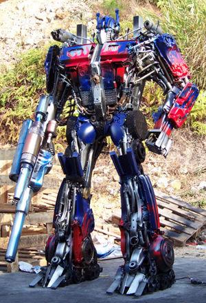 ¡Un ejército de Transformers!