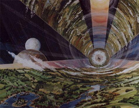 En 1970, así es como la NASA imaginaba las estaciones espaciales modernas