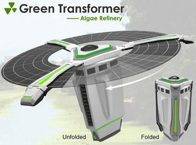 Green Transformer Algae Refinery