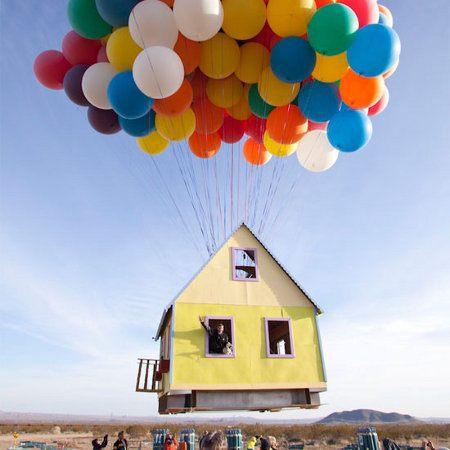 La casa de la película 'Up' en la vida real