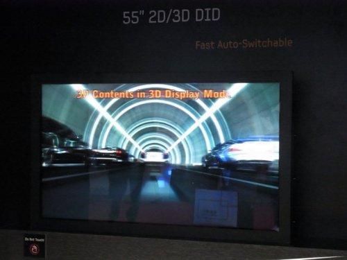Samsung lanzará HDTV 3D de 55 pulgadas en 3 años