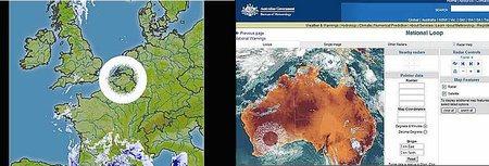 Un OVNI colosal fue capturado por un radar meteorológico