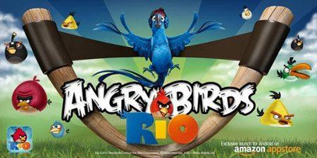 Angry Birds Rio logra más de 10 millones de descargas en menos de 2 semanas