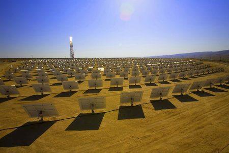 Google invierte dinero para construir la mayor central solar del mundo