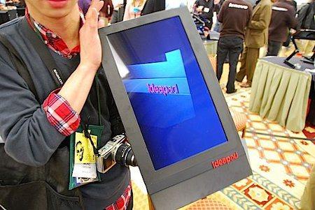 Lenovo vuelve a la carga con tablet de 23 pulgadas