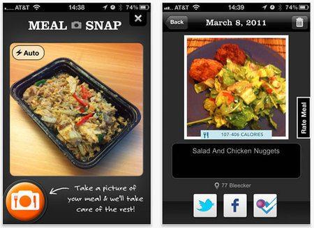 Nueva aplicación para iPhone permite calcular las calorías de tu comida
