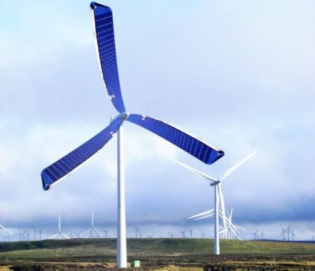Nuevas turbinas con celdas fotovoltáicas