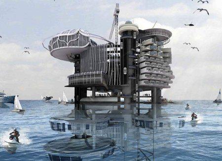¿Quién quiere vivir en una plataforma petrolífera?