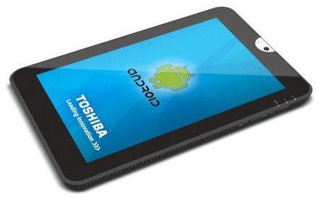 Toshiba le pone precio a su nuevo tablet Android 3.0
