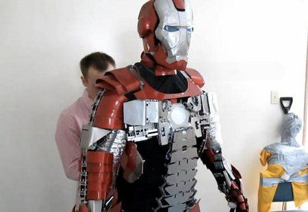 Traje de Iron Man en la vida real