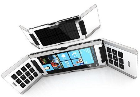 Triple Flip, un smartphone que no parece un smartphone