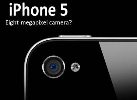 iPhone 5 tendrá cámara de 8 megapíxeles