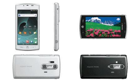 Este nuevo móvil es capaz de grabar en 3D  Aquos-Phone-SH-12C