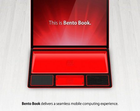 Bento Book, la notebook con tablet y smartphone integrados