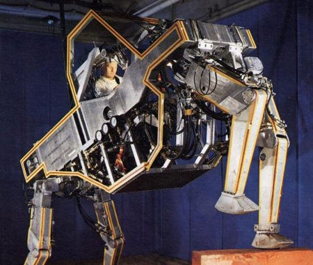 Cybernetic Anthropomorphous Machine (CAM)