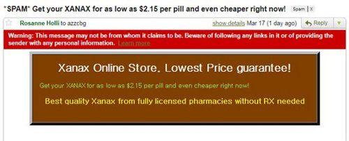 El punto débil del spam