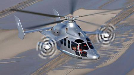 Eurocopter X3, el helicóptero más rápido del mundo