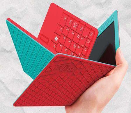 Fujitsu Flexbook, el tablet plegable