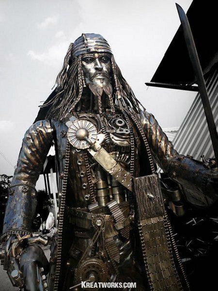 Jack Sparrow en versión Terminator