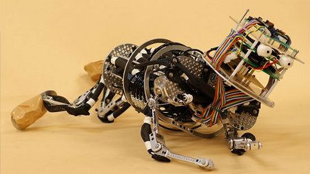Japoneses construyen bebés robóticos