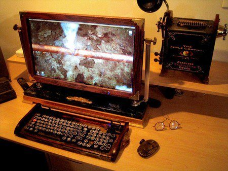 Nueva máquina Steampunk por DuQuette