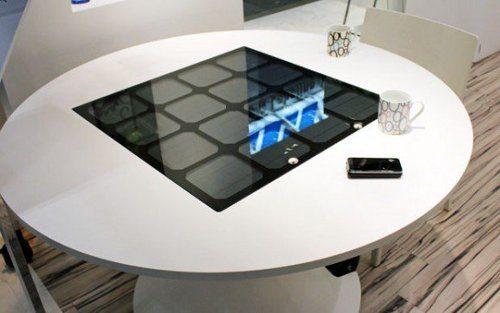 Panasonic presenta nueva mesa solar recargadora