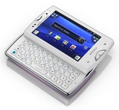Sony Ericsson XPERIA mini y mini pro ya son oficiales