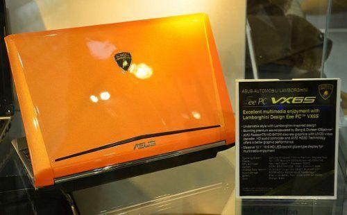 ASUS Lamborghini Eee PC VX6S