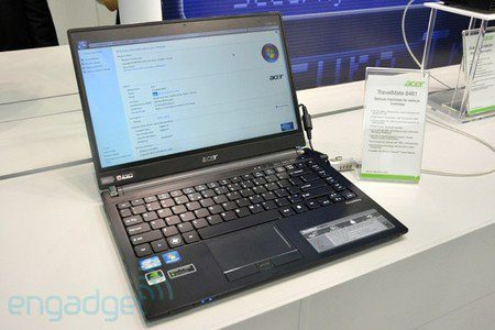 Acer TravelMate 8481, nueva laptop ultra-delgada anunciada para Europa