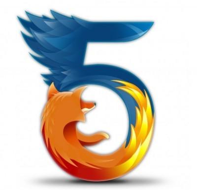 Firefox 5 ya está disponible