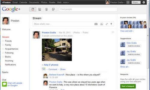Google+, el nuevo anti-Facebook